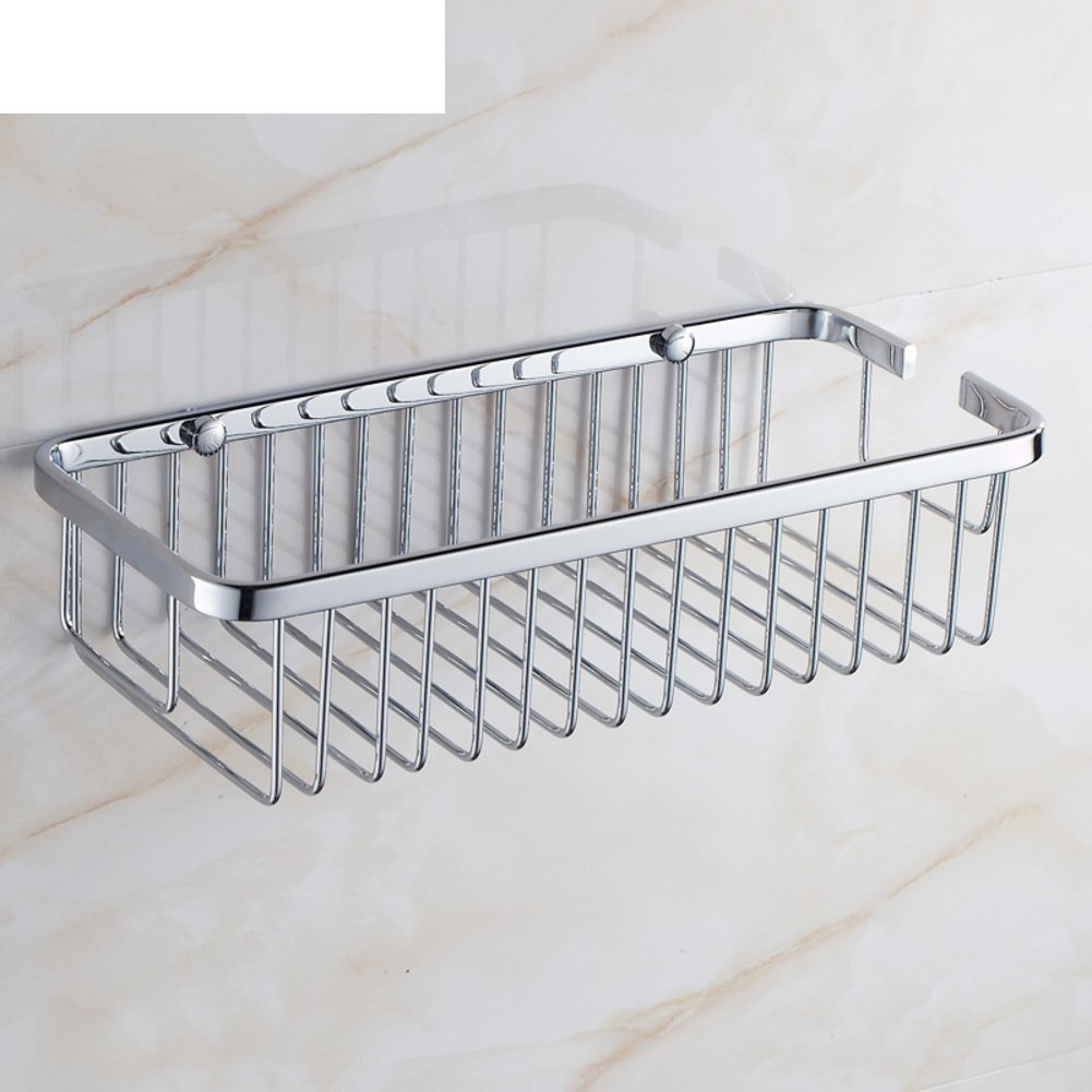 Bathroom racks/ Stainless Steel Basket/Bathroom racks/ Bathroom hanging/Bathroom Wall Storage-C