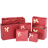 Spot goods red elegant gift wrapping paper bag
