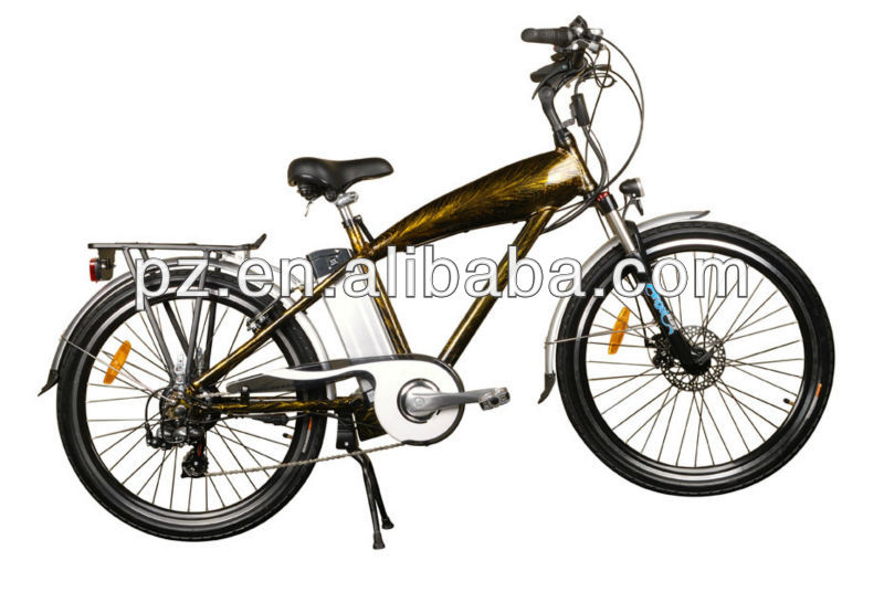 250W alloy electric bicycle with lithium battery