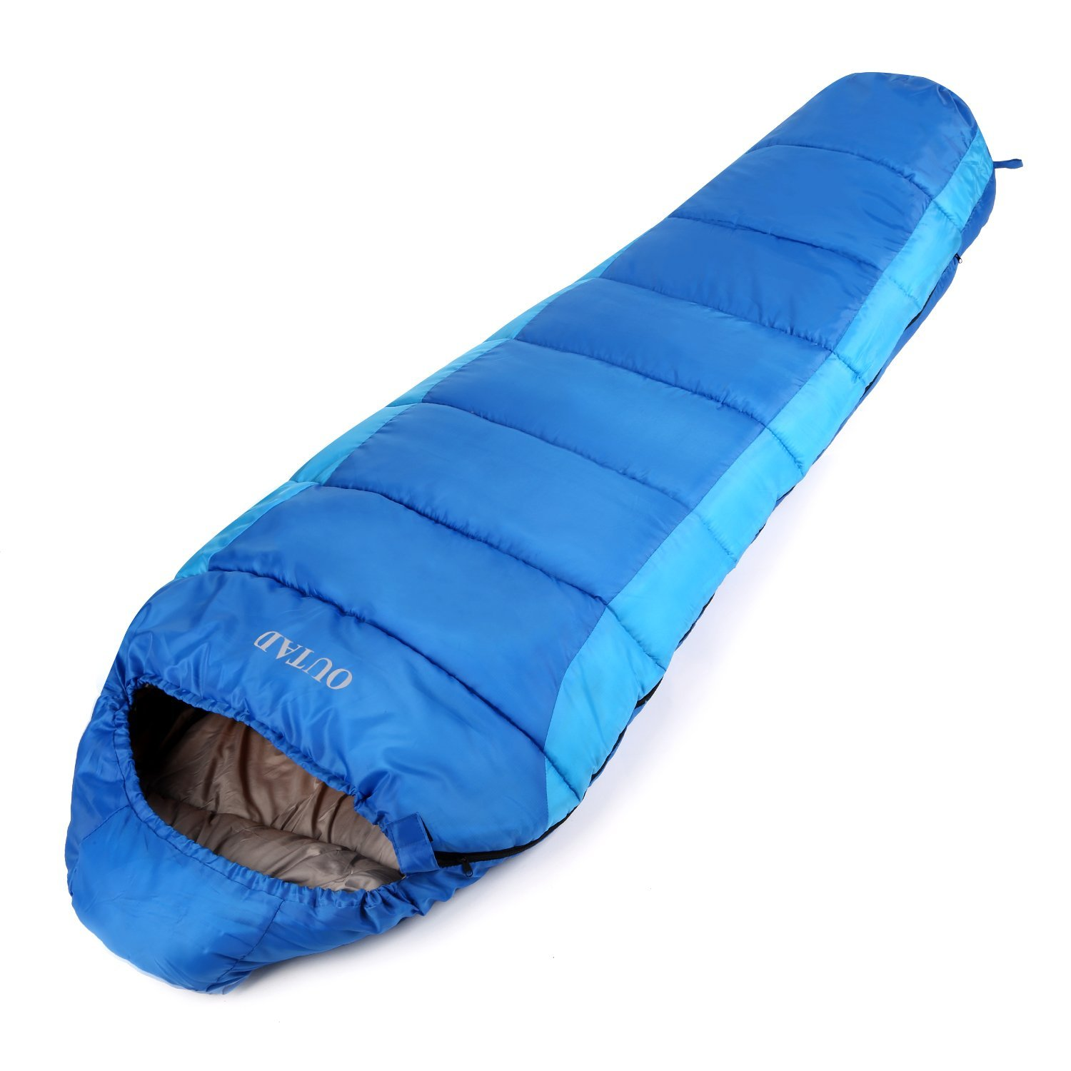 OUTAD Outdoor Mummy 40-50 Degree Portable Sleeping Bag for Camping/Hiking/Backpacking