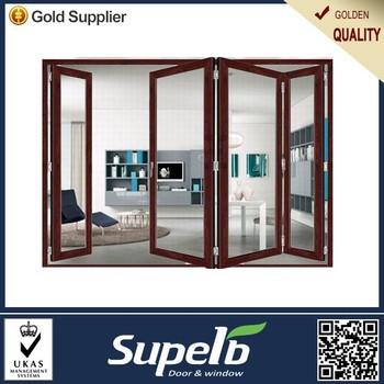 China Aluminium Sliding Interior Door Movable Sound Proof Folding ...