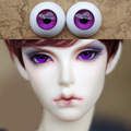 Beautiful Violet Purple Bjd Eyes for BJD Dolls toys eyeball 1 3 1 4 1 6