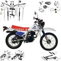 XY125GY dirt bike parts