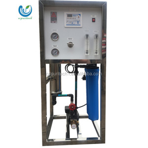 800GPD RO host water purifier with 4021 membrane reverse osmosis system with pump