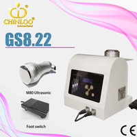 GS8.22 on promotion ultrasonic cavitation radio frequency machine for weight loss