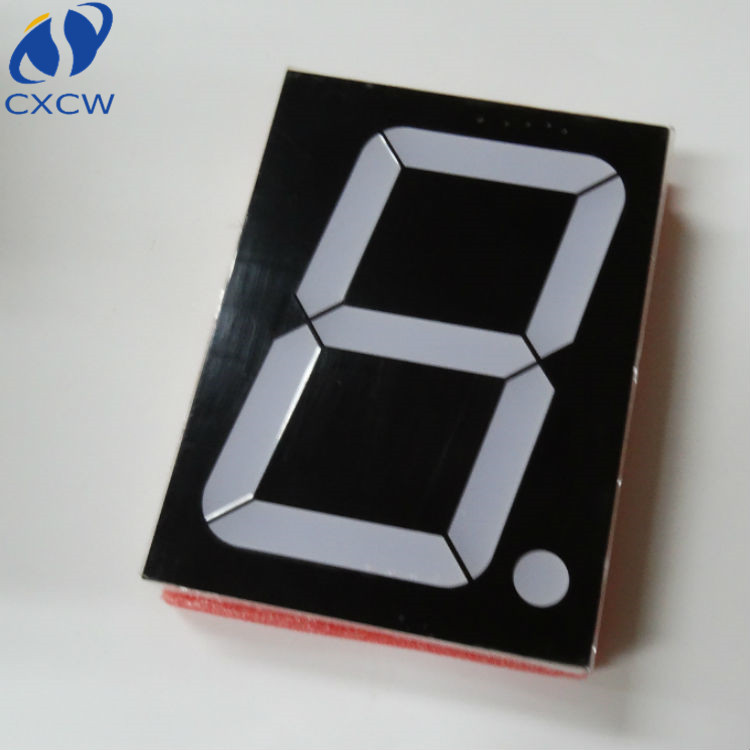 Hot selling Red led light 4 inch 7 segment display factory price