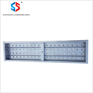 MD-88 Tianjin Shisheng Perforated Scaffold Galvanized Steel Walk Plank