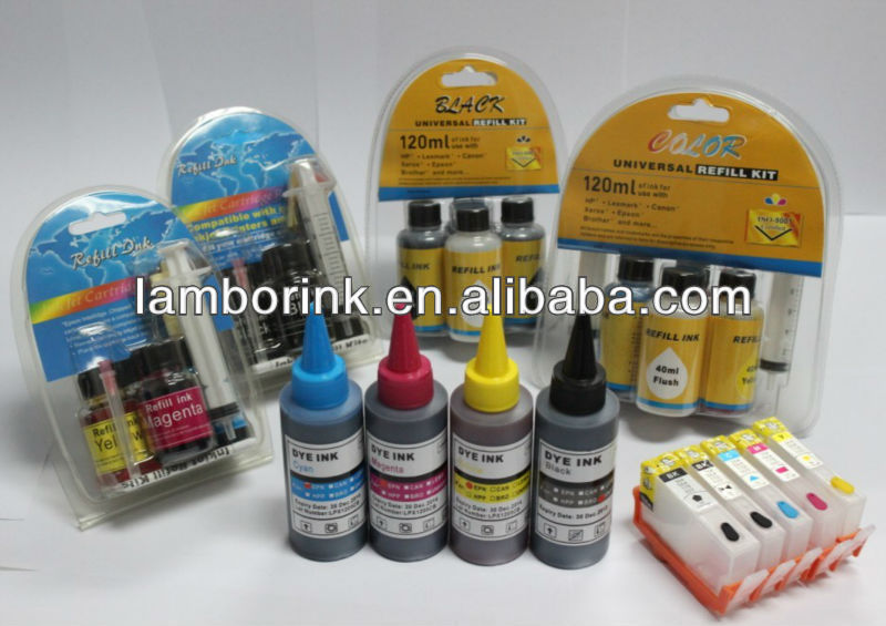 500ml Compatible Ink cartridges for Epson 10600/1000CF,pigment inks /dye inks