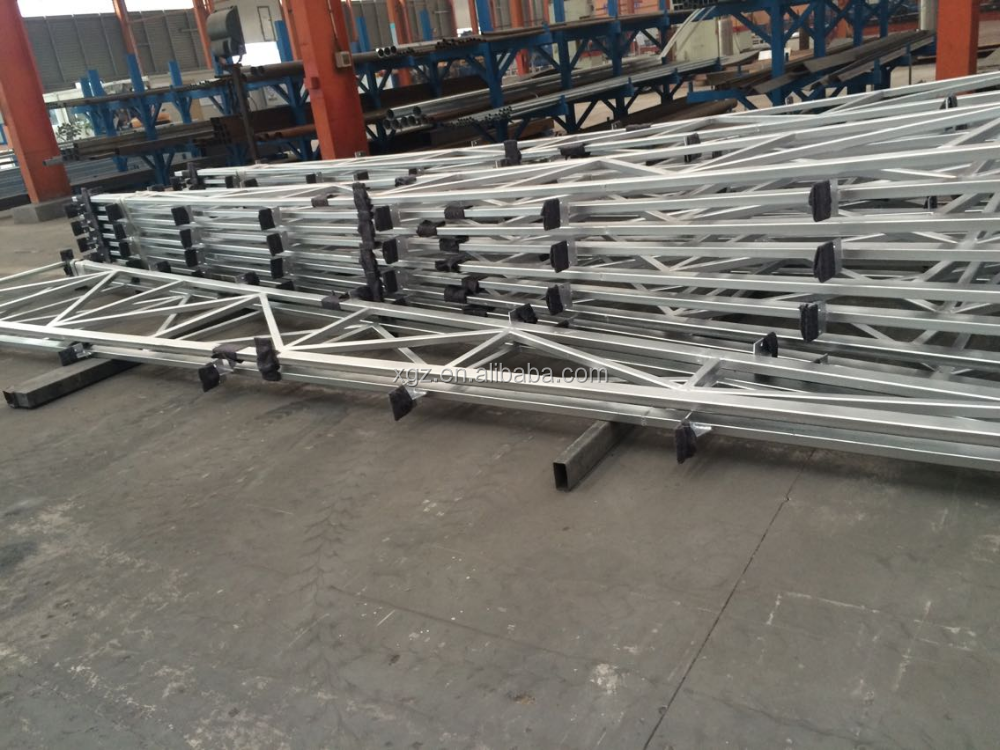 Good quality steel roof truss design for Prefab house