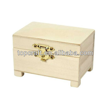 40x 40cm Wooden Treasure Chest Storage Box Decoratepaint Wood Craft Inspiration Small Wooden Boxes To Decorate