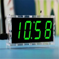 BTC565 4 Bits Digital Tube DIY kit LED electronic clock microcontroller LED digital clock time thermometer