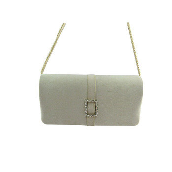 New product fashion women white evening clutch bag for wedding