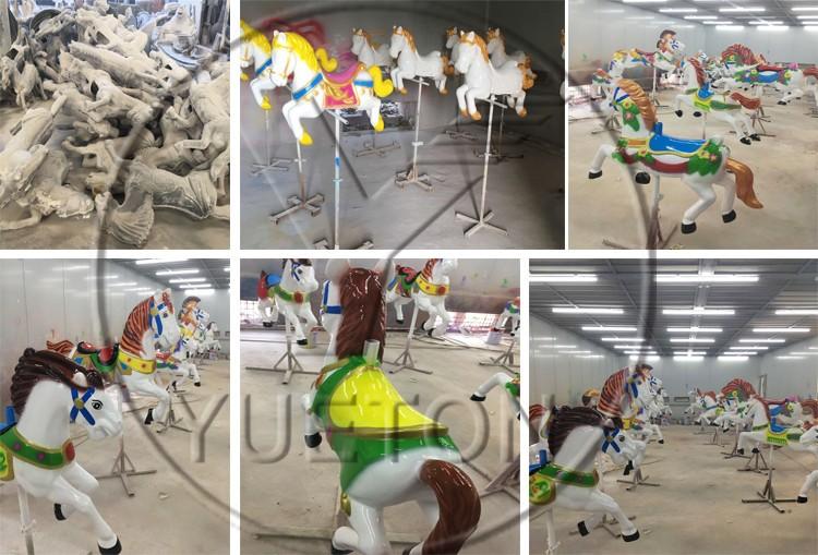 Zhengzhou Yueton New Carousel Horse Amusement Park Carousel