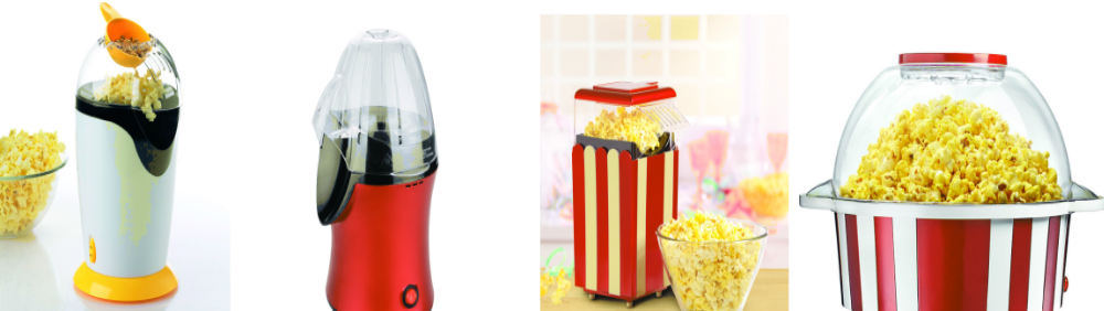 S160046 Hot Selling Mini Popcorn Maker Nostalgic Hot Air Popcorn ...