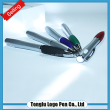 Logo customized invisible ink pen with uv light