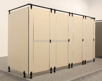 Nylon Toilet Cubicle PartitionHpl Toilet CubilePhenolic Toilet - How to install bathroom partitions