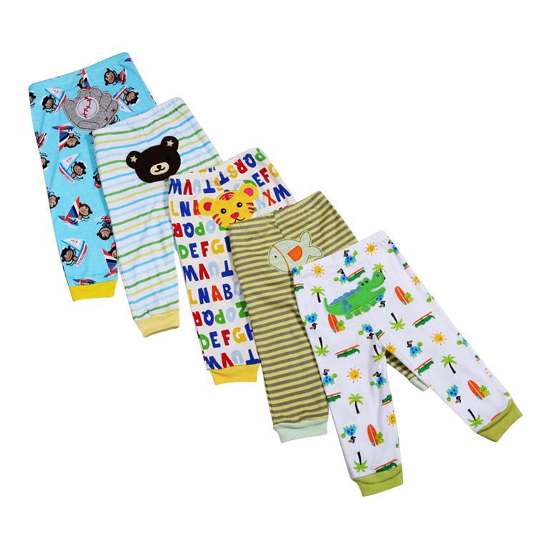 Wholesale 5pcs Unisex Cotton Baby Pants Winter Leggings For Children