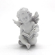 playing music garden angel statue molds wholesale