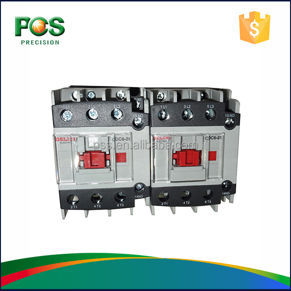 DELIXI CDC6-25A 1NO0NC Contactor Digital