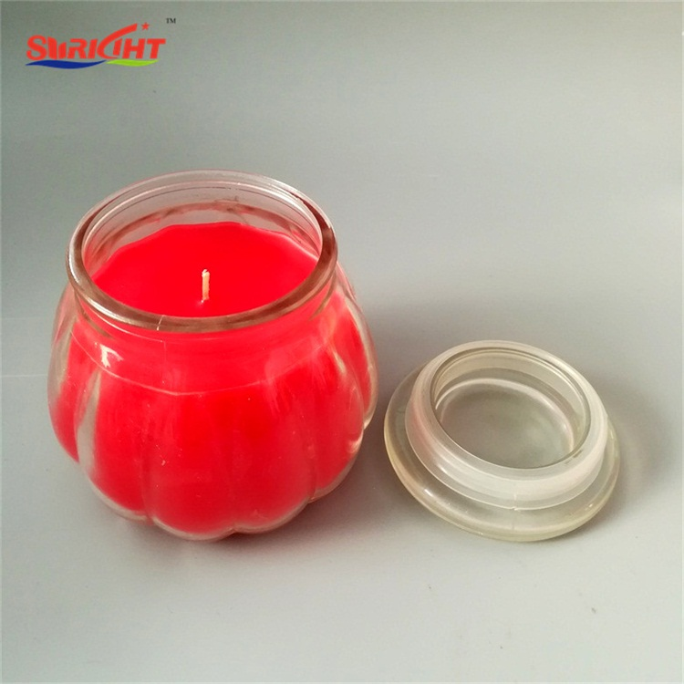 2018 Trending Products Home Garden Decorative Glass Jar Candle