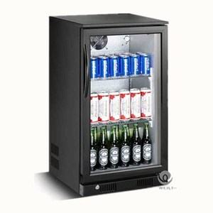 New SC-118F commercial beverage cooler refrigerator Used Mini Bar Hotel Fridge Cabinet with LED light and agaric logo
