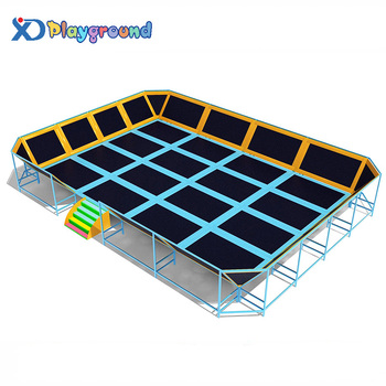 Super commercial indoor trampoline for adults and kids