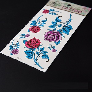7e37fbcf353d4 3d Flower Tattoos, 3d Flower Tattoos Suppliers and Manufacturers at  Alibaba.com