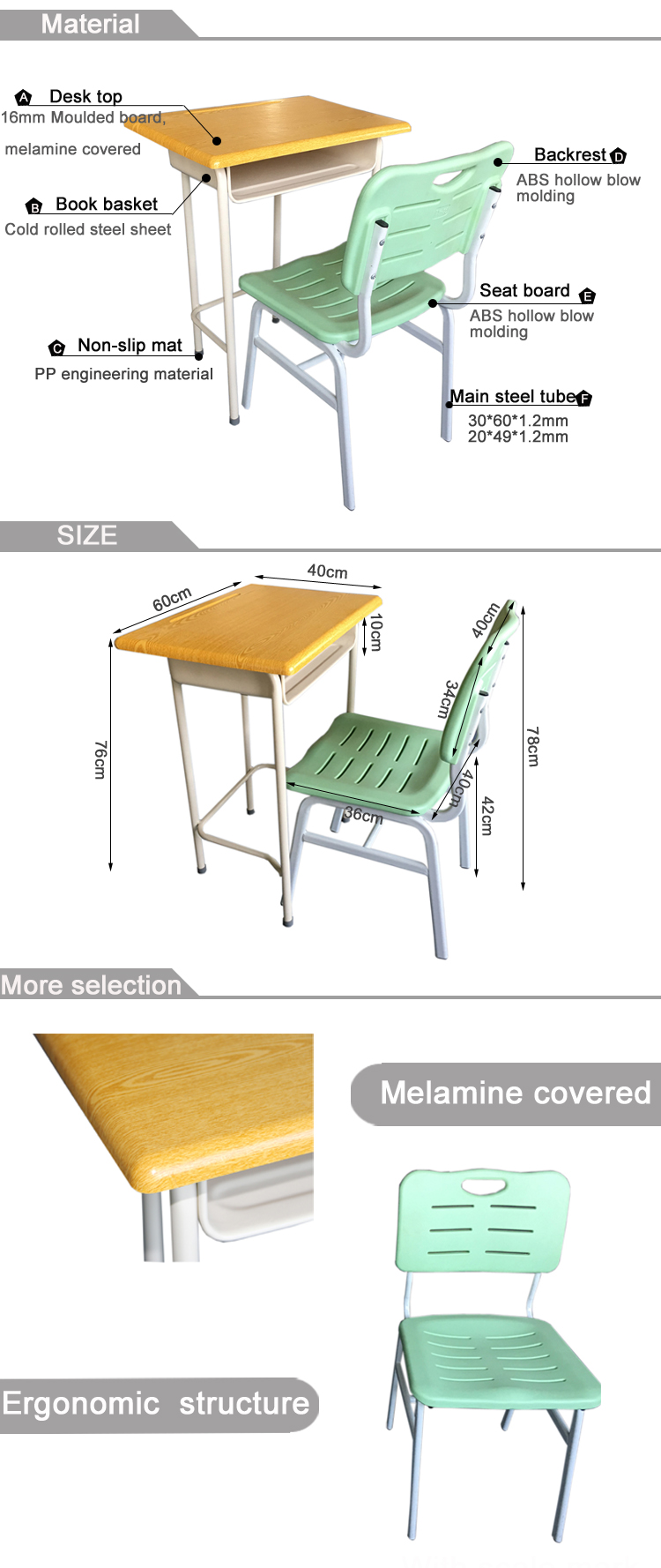 Terrific School Desk And Chair Attached Mould Board Used School Furniture Buy School Desk Chair Used School Desk Chair Chair And Desk Attached Product On Cjindustries Chair Design For Home Cjindustriesco