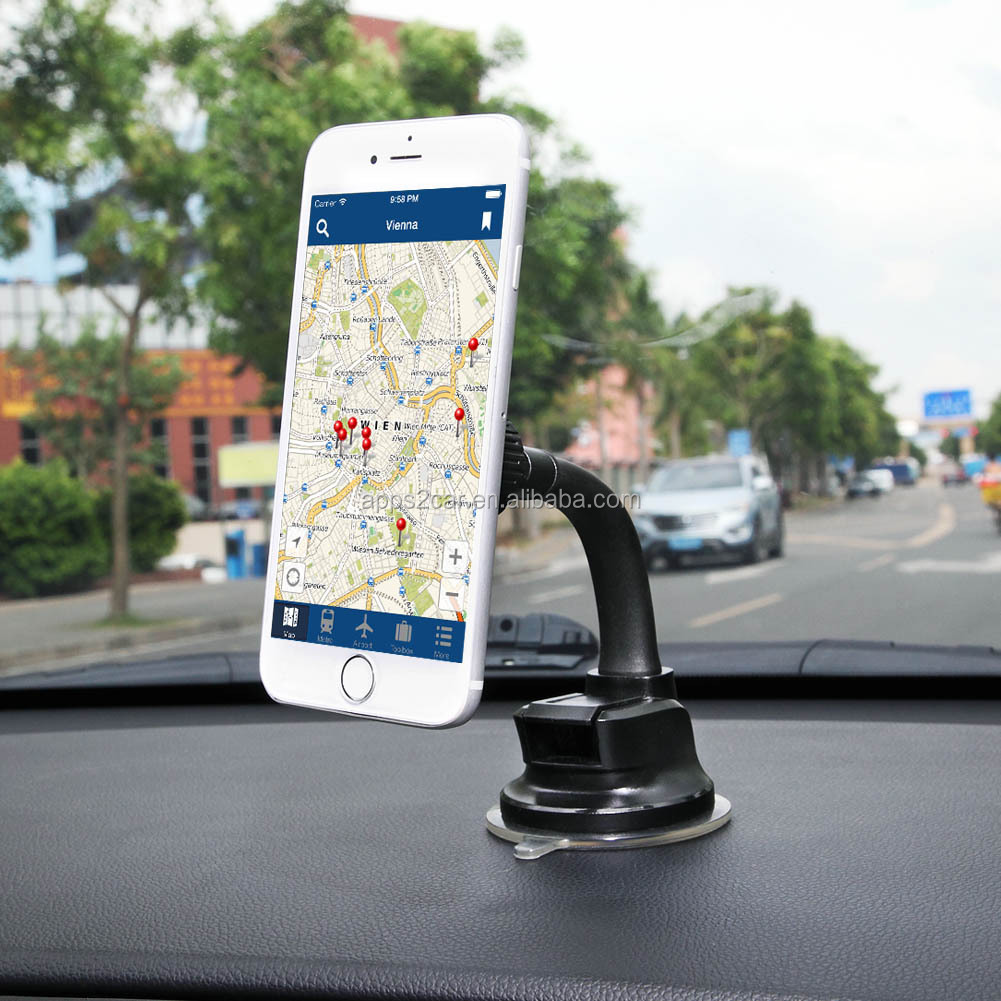 2019 New magnetic phone holder car mount dashboard lazy neck phone holder