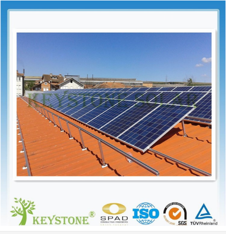 Manufacturer Fixed tin roof Solar Mounting Structure