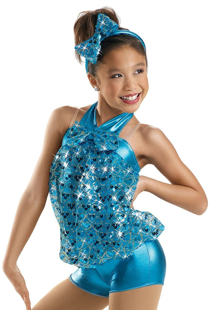 2017 the new children girls latinjazz dance costumes