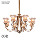 Hot Sales Customized White Modern Wire Wrought Iron Chandelier Lighting