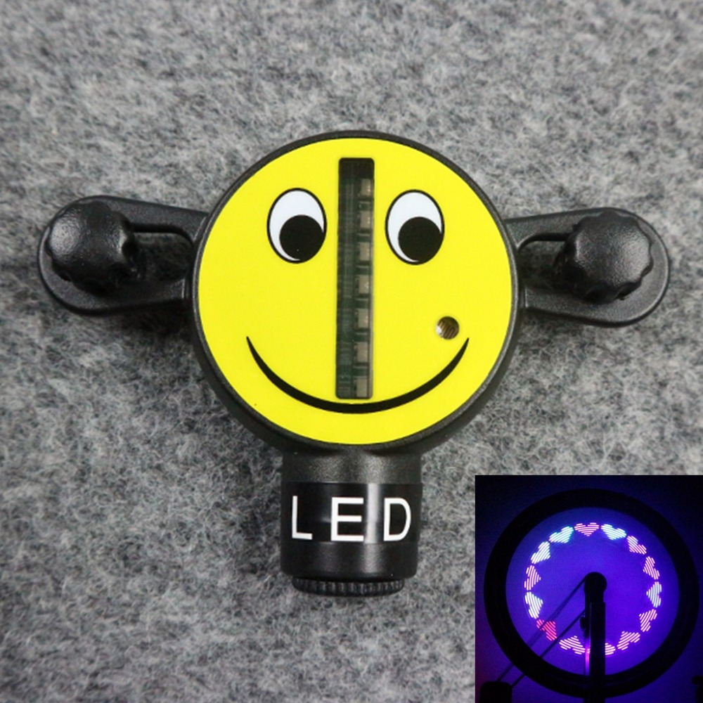 Smile Kid Face 14 LED Bike Wheel Spoke Light
