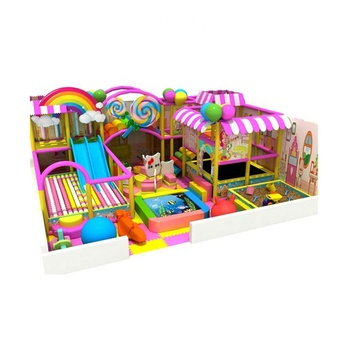 China supply commercial kids games indoor playground equipment with discount price