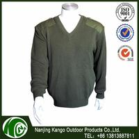 K-ANGO New Fashion Sunshine Proof military big collar sweater