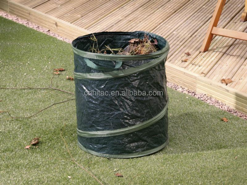 Garden Lawn Leaf Bag Holder, Recycled Garden Lawn Leaf Tote Bag