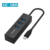 Hot Sale 4 in 1 USB C Hub Adapter with Three USB3.0 port and USB C Port for MacBookPro Laptop