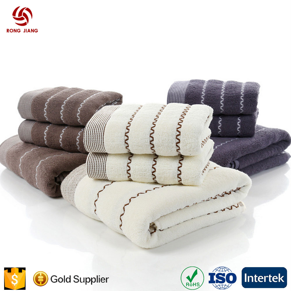 Wholesale Hotel/Sap High Quality Organic 100% Cotton Terry Towel 70*140cm*400g