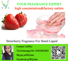 High concentration strawberry fragrance for hand wash liquid,good smell sweet strawberry liquid fragrance