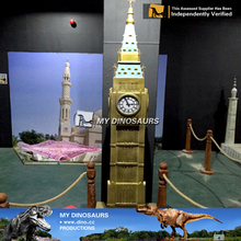 MY Dino-C065 Miniature gifts artificial famous miniature building models