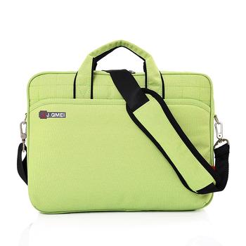 Bright Green Washable Shoulder Messenger Laptop Sling Bag For Macbook