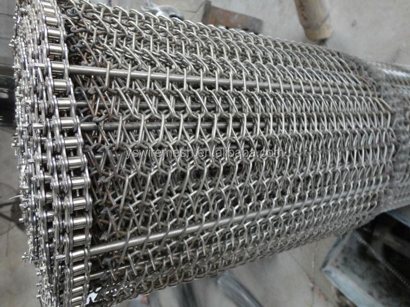 Stainless Steel Wire Mesh Conveyor Belt/ Metal Conveyor Band/ Belt ...