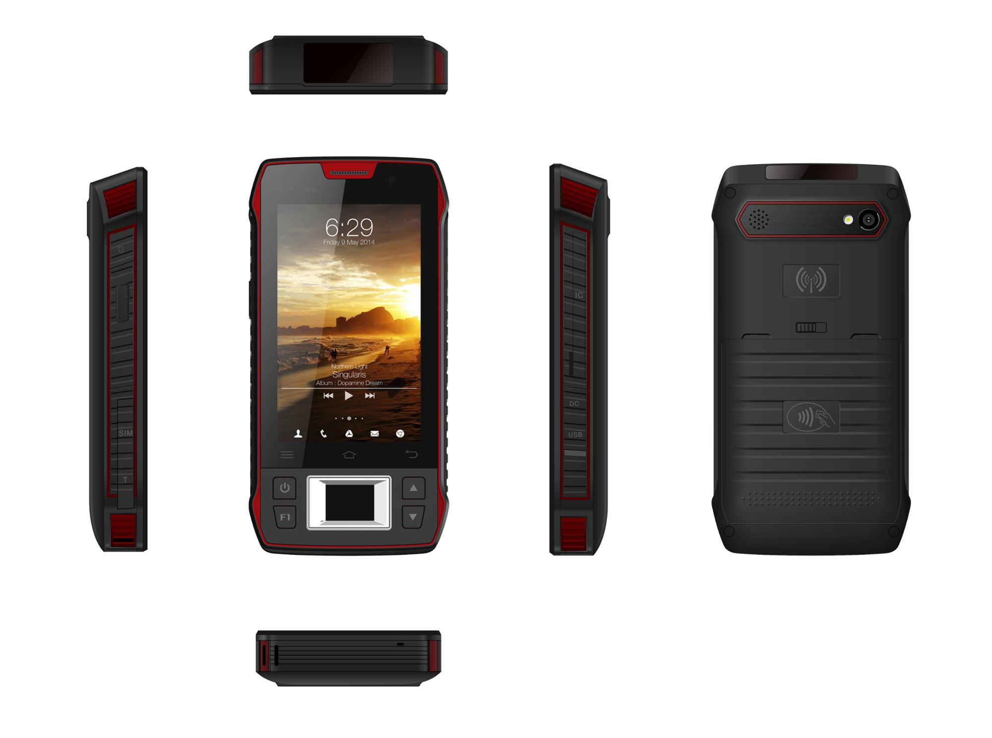 4.3'' android 3g mobile phone with HF RFID/NFC/PSAM