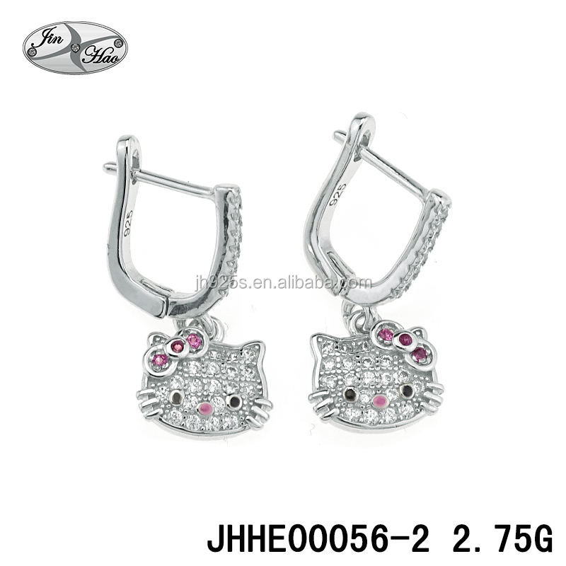 Hello Kitty Earrings Wholesale, Kitty Earring Suppliers - Alibaba