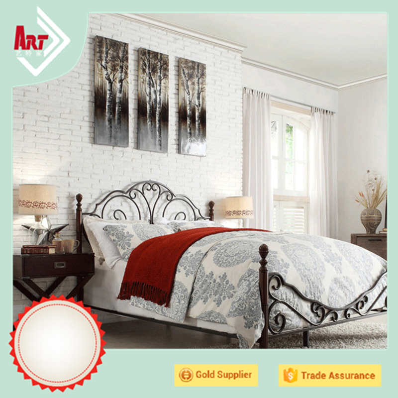 roysl metal french king single size - Wholesale Bed Frames