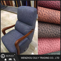 Durable FabricTwo Tones Home textile office chair luxury pu coated leather fabric sofas leather