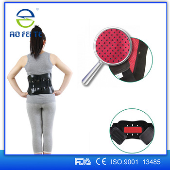 New Products Lumbar Waist Support Belt Rubber Leather Abdominal Back Support