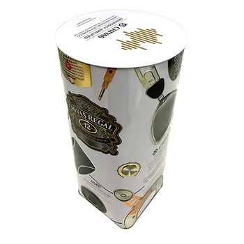 Round square special shaped wine bottle tin can