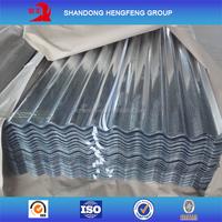 Galvanized cheap metal zinc roofing sheet