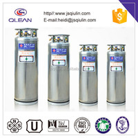 Steel Vacuum Insulated Cryogenic Cylinder for Liquid CO2/Oxygen/Argon/Nitrogen